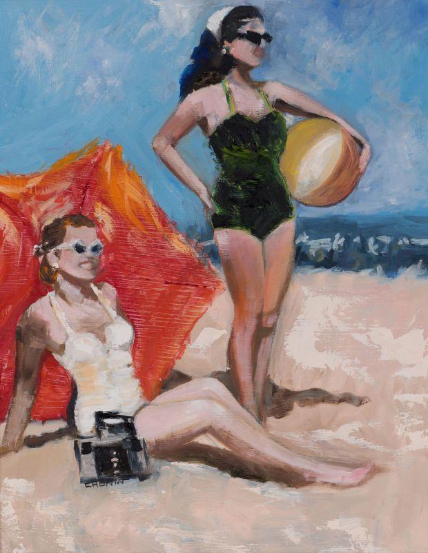 Retro Girl, Susan Cronin, €800-€1,200 Dolan's