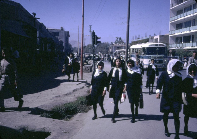 Daily life in Afghanistan during the 1960s.