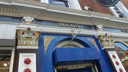 Decor from the former Prince of Wales pub on St Benedicts Street in Norwich.